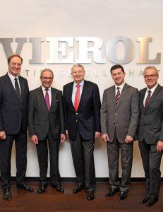 2015 - Führungswechsel im VIEROL Aufsichtsrat