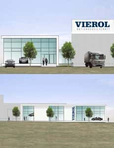 2016 - Bau der VIEROL Academy gestartet