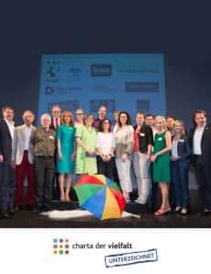 """2016 - VIEROL AG unterzeichnet """"Charta der Vielfalt"""""""