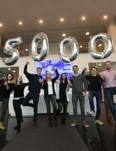 2017 - VIEROL-Nachwuchs hilft Schulkindern mit 5000 Euro