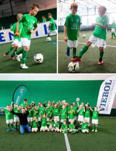 VIEROL ist Sponsor der WERDER Fußballschule